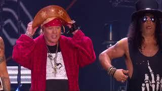 Guns N' Roses acerta as contas com o Rock in Rio em show de mais de 3 horas com homenagem