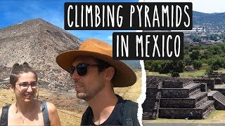 Exploring Aztec Pyramids in Teotihuacan, Mexico City | MEXICO TRAVEL VLOGl