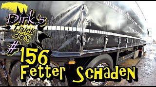 Fetter Schaden! / Truck diary / ExpoTrans Lkw Doku #156