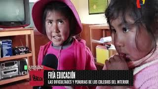Educación con límites: conozca la cruda realidad de Ocapata