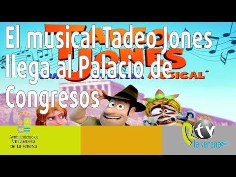 El musical Tadeo Jones llega al Palacio de Congresos el 16 de diciembre
