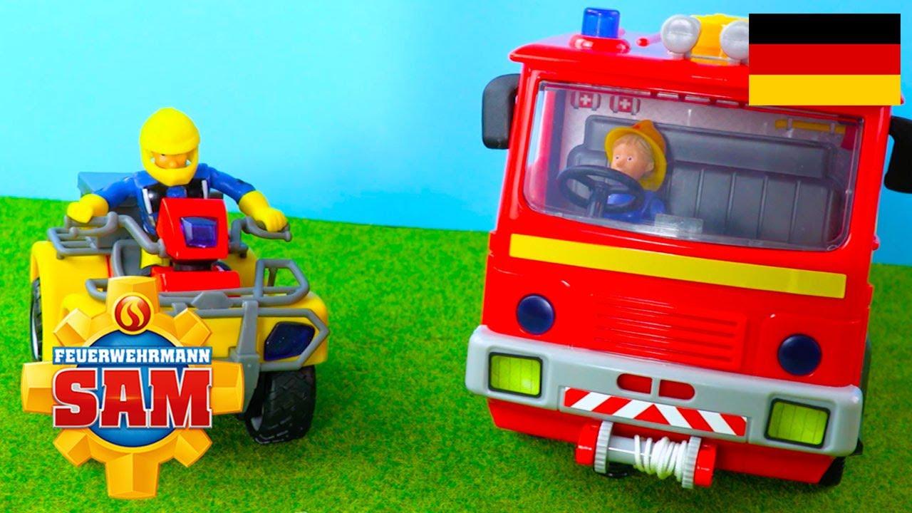 Feuerwehrmann sam deutsch spielzeug ausgepackt und