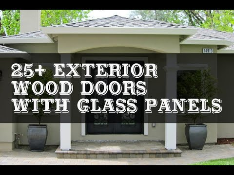 25 best exterior wood doors with glass panels - Exterior Wood Doors With Glass Panels