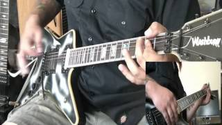 Pantera - Psycho Holiday guitar cover - by Kenny Giron (kG) #panteracoversfromhell