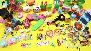 Tất cả đồ thu nhỏ mà chị Ami đã làm - Bộ sưu tập #6- Đồ chơi thu nhỏ cho búp bê Ami channel