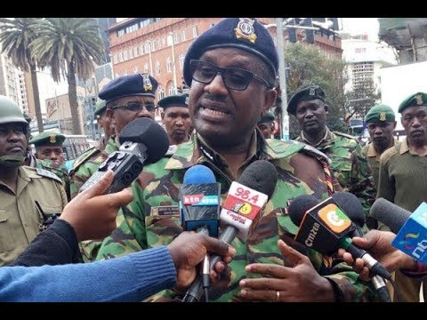 Nairobi police commander assures Kenyans of their security; urges them to go back to work
