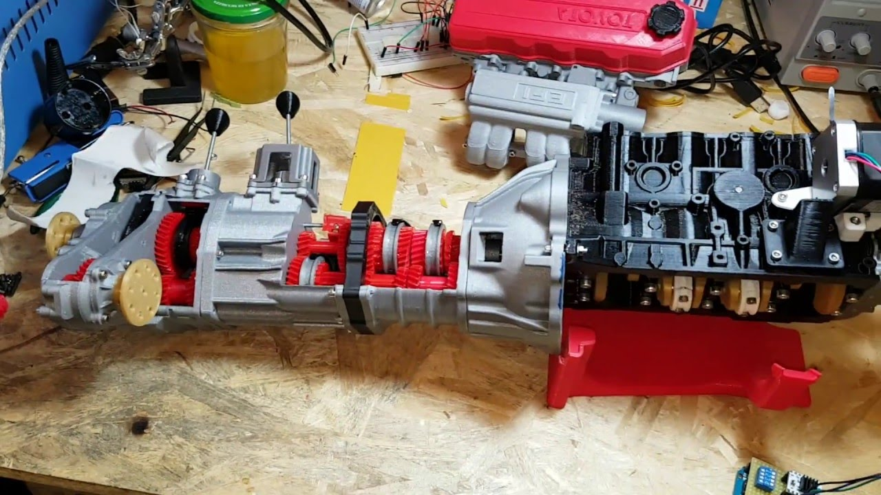 A Full 3d Printed Toyota 22re Engine & 5 Speed 4×4 Offroad