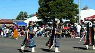 Navajao Basket Dancers at Navajo Nation Parade 2008