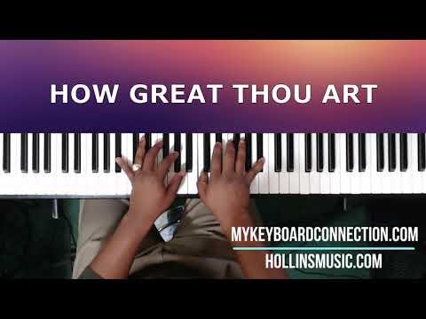 How Great Thou Art - Piano