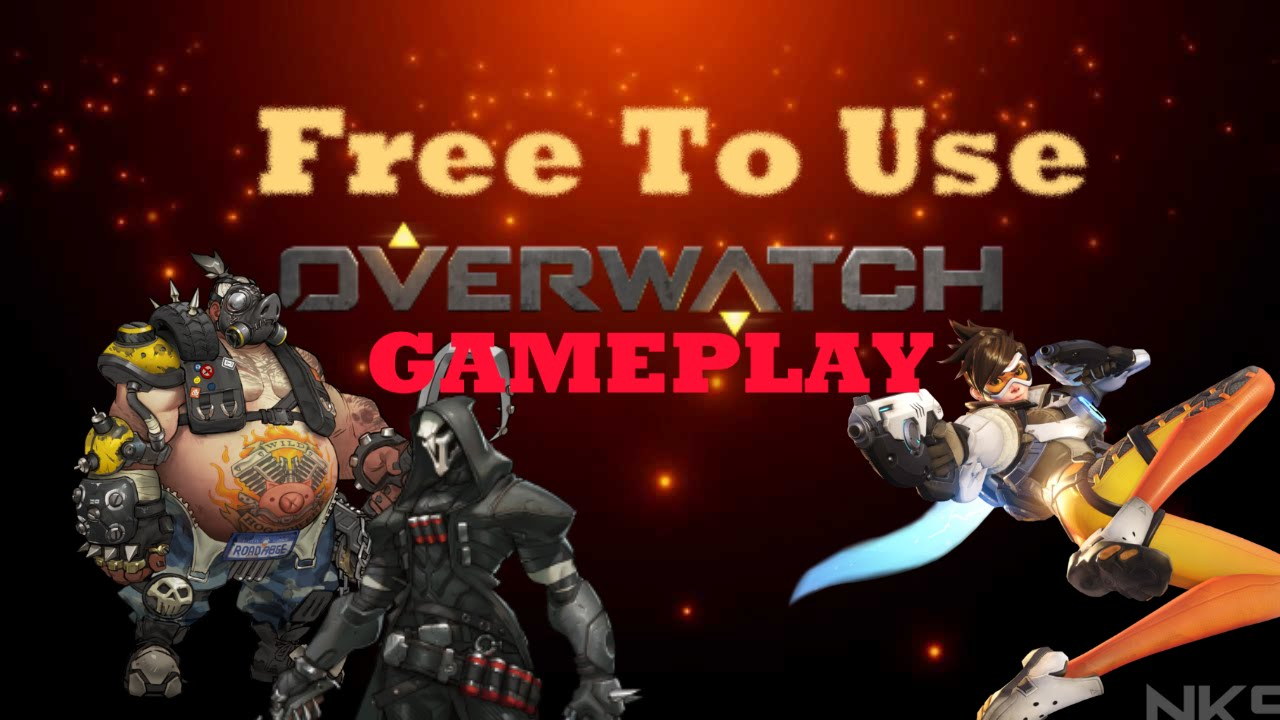 Free To Use Overwatch Gameplay Hd S Full Download In The Description
