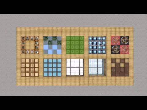 Creative Flooring Designs In Minecraft Youtube