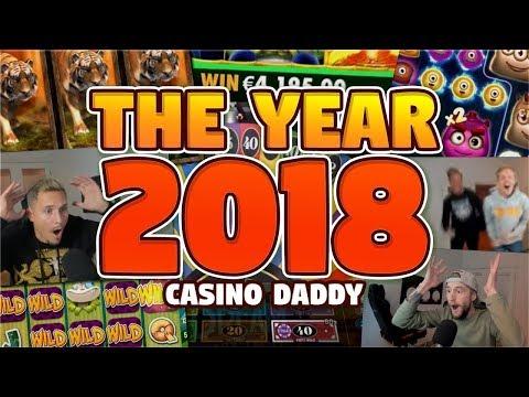 CasinoDaddy BIGGEST WIN 2018 - BONUS COMPILATION 2018