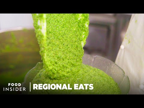 How Authentic Pesto Is Made In Italy | Regional Eats