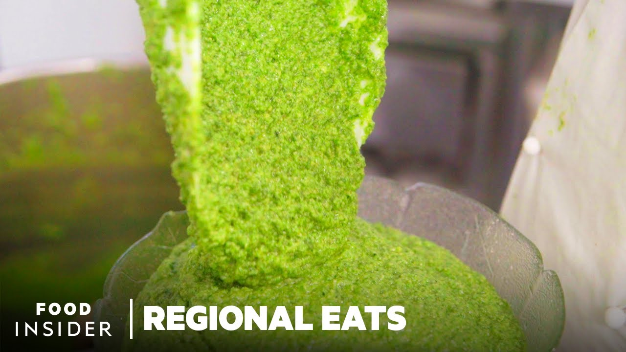 How Authentic Pesto Is Made In Italy   Regional Eats