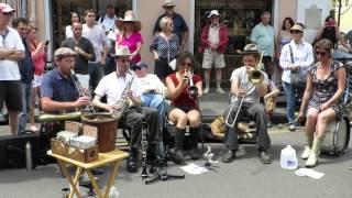 "Tuba Skinny - ""Oriental Strut"" 4/11/14 @Royal St, FQF (60 fps)"