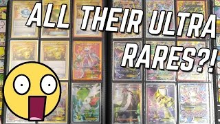 SOMEONE SENT US THEIR ENTIRE COLLECTION OF ULTRA RARE POKEMON CARDS!!!