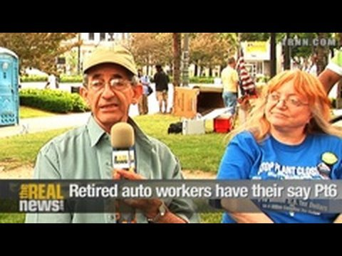 Retired auto workers have their say Pt.6