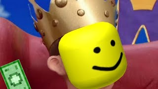 Lazy Town I Am A Prince but it's oof'ed (roblox death sound)