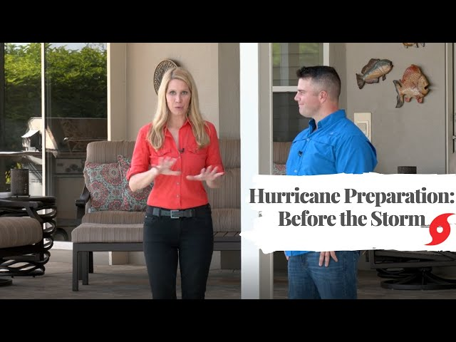 Preparing your Pool before a Hurricane or Storm