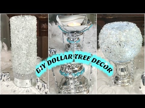 DIY DOLLAR TREE GLAM HOME DECOR IDEAS