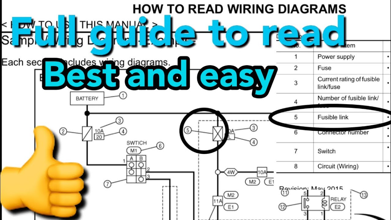 How To Read Wiring Diagrams Of The Vehicle  Standard