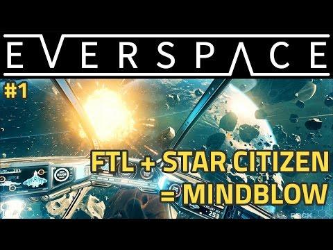 [VOD] EVERSPACE ! L'enfant génial de FTL et Starcitizen !