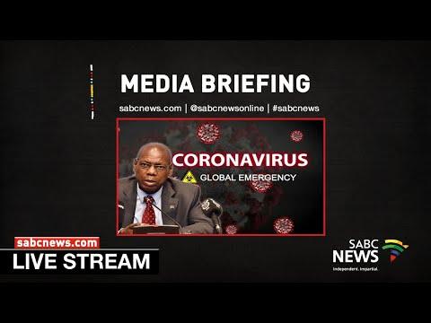 Coronavirus Media Briefing in KwaZulu-Natal