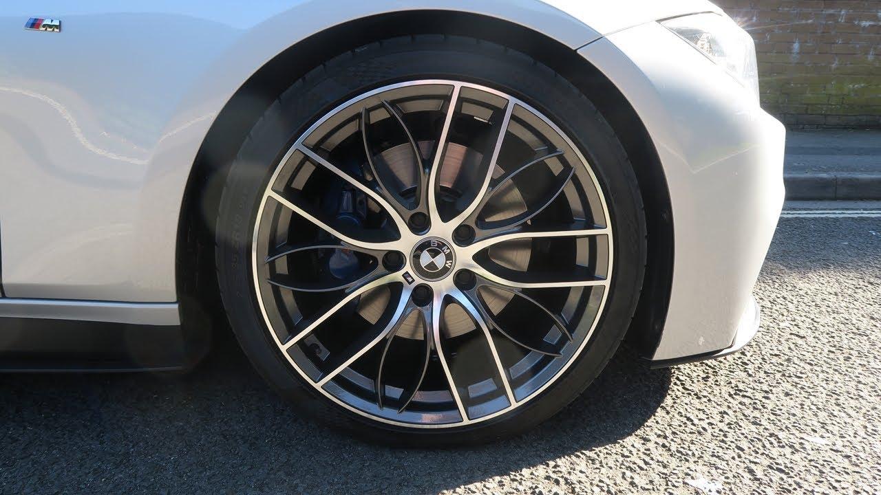 Bmw M Performance 405m Replica Wheels Gunmetal M Sport Glacier Silver Remapped 320d