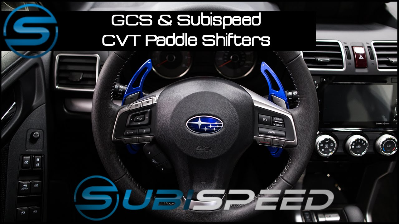 GCS & Subispeed CVT Paddle Shifters
