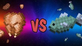 видео: МЯСО ПРОТИВ РЫБЫ в Minecraft