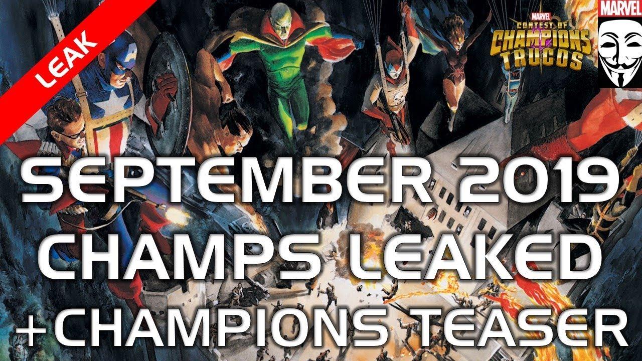 v24.2 Update MCoC 2019 + Future Champions Teaser