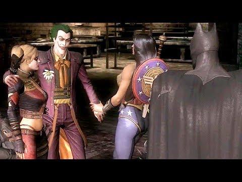 Evil Justice League Vs Joker Fight Scene - Injustice