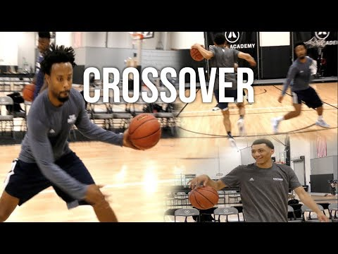 TOP PG Jahvon Quinerly Learning An EFFECTIVE CROSSOVER From Devin Williams At adidas Nations