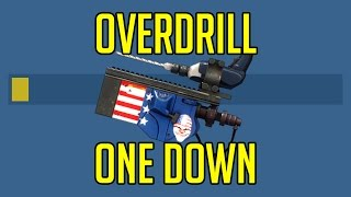 Payday 2 One Down Difficulty - OVERDRILL