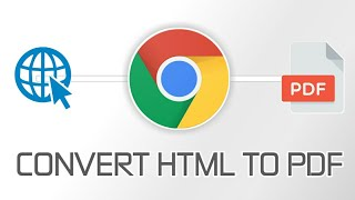 Convert Webpage ( HTML ) To PDF Without Any Other Or External App