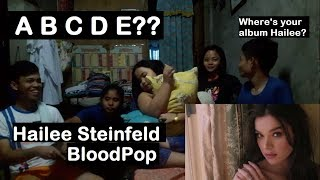 Hailee Steinfeld BloodPop® - CAPITAL LETTERS REACTION!!!