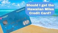Hawaiian Miles Credit Card Review