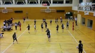 【煌vsアパッシュ】愛知県9人制バレーボール大会