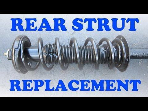 Honda Accord Rear Strut Replacement - YouTube