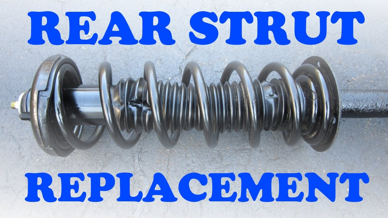 Honda Accord Rear Strut Replacement Youtube