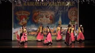kairali of baltimore christmas new years 2017 dance by ianam
