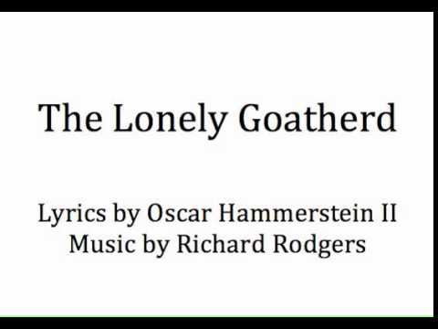 """The Lonely Goatherd"" from The Sound of Music -accompaniment"