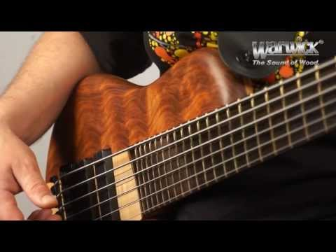 The Warwick Thumb Singlecut - Product Demo with Andy Irvine