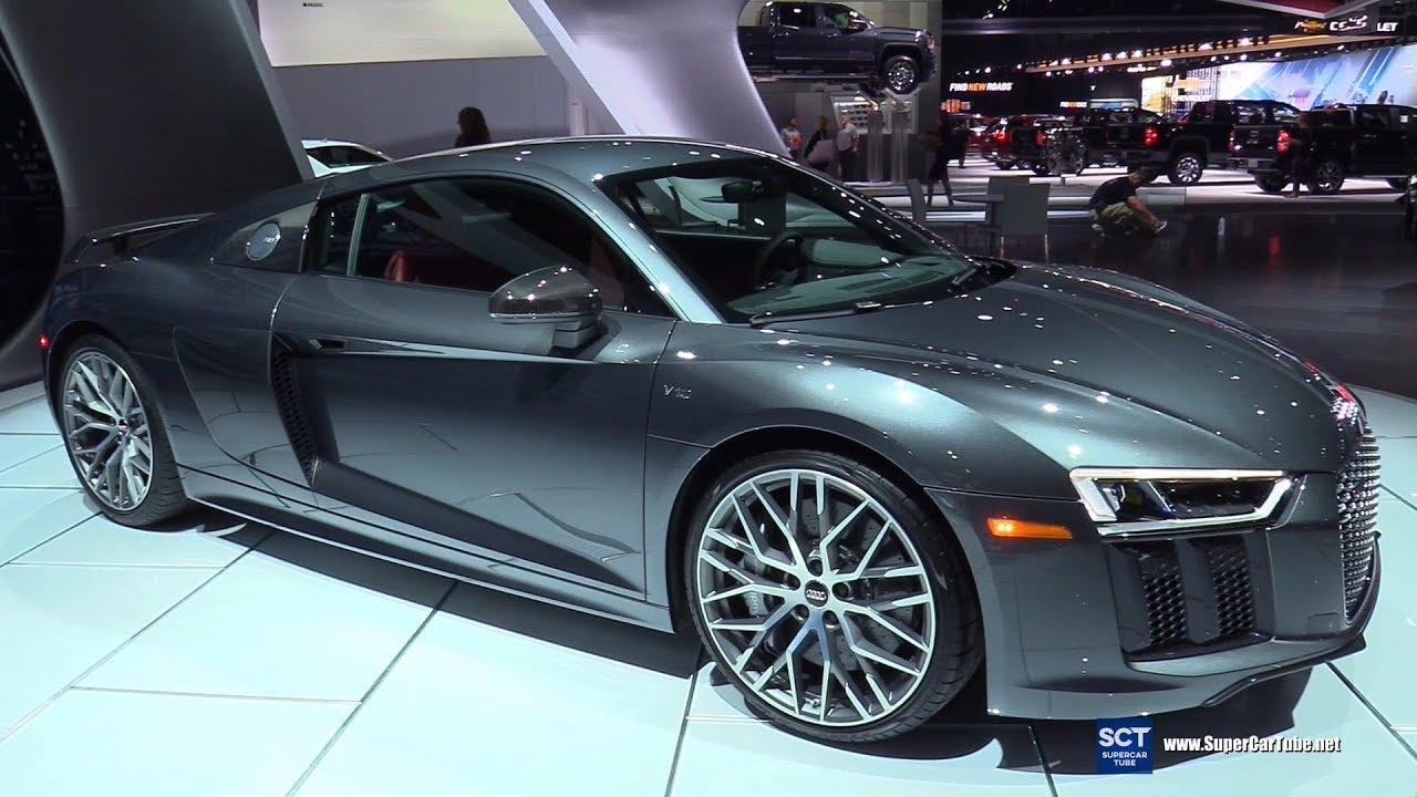 2018 Audi R8 V10 Plus Exterior And Interior Walkaround 2017 La Auto Show