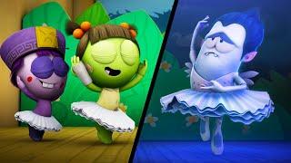 괴물들이 춤을 추는 신발을 신고 | Spookiz | 어린이를위한 만화