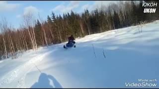 Мотобуксировщик с лыжным модулем ЮКОН UKON