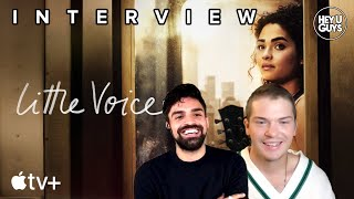 Colton Ryan & Sean Teale Interview - Little Voice Season 1 - Apple TV+'s new coming of age drama