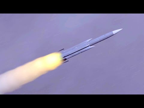 NCSIST - ROC Hsiung Feng III Supersonic Anti-Ship Missile Combat Simulation [1080p]