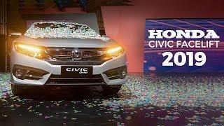 Honda Civic 2019 Facelift   First Look Review   Honda Civic X Walkaround   PakWheels