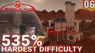 Surviving Mars 535% HARDEST DIFFICULTY - Part 06 - #TUNNELLIFE - Gameplay (1440p)